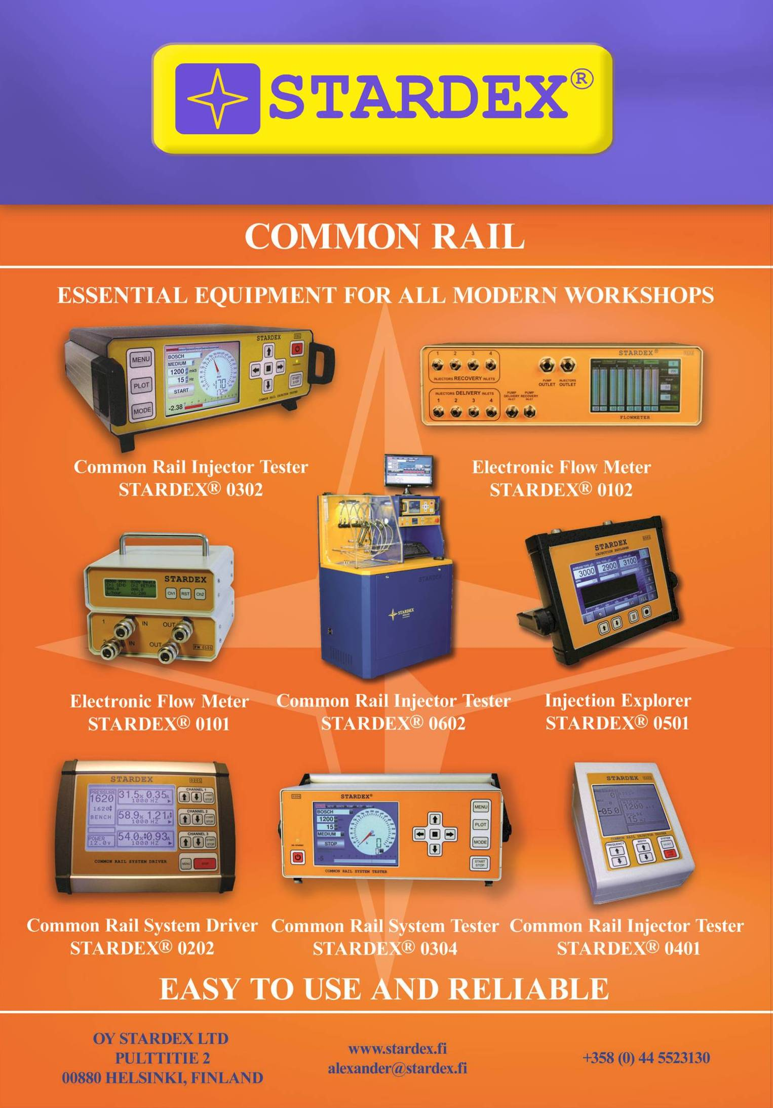 common rail equipment stardex