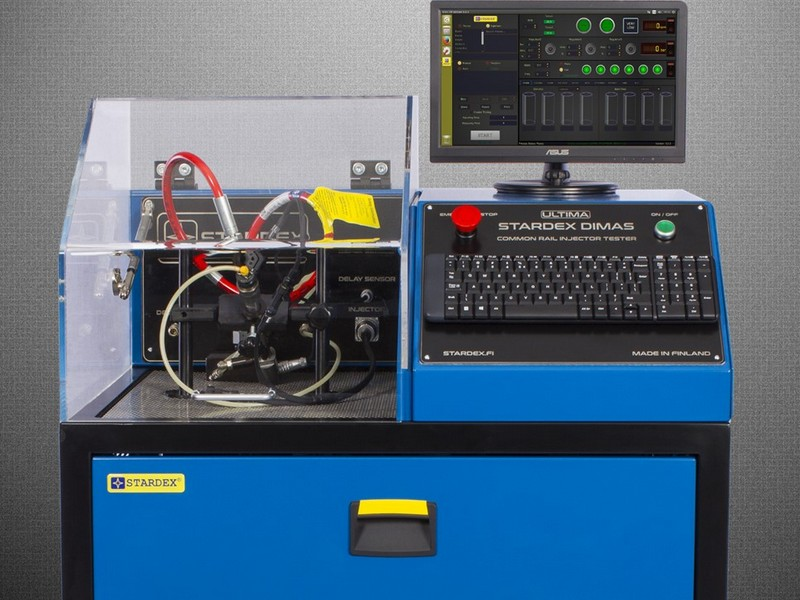 STARDEX DIMAS Common Rail Injector Tester